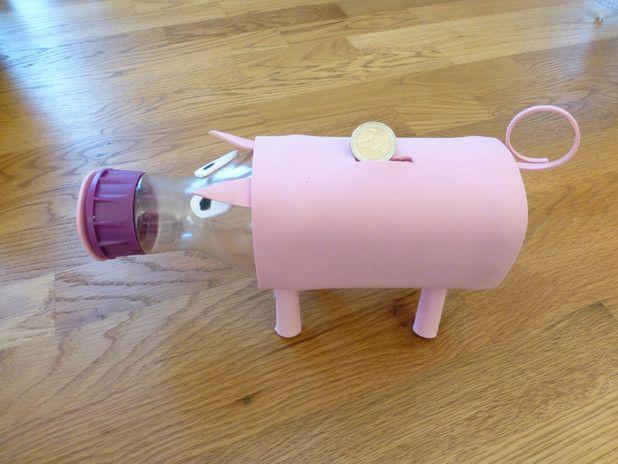 41 best images on pinterest for Piggy bank craft