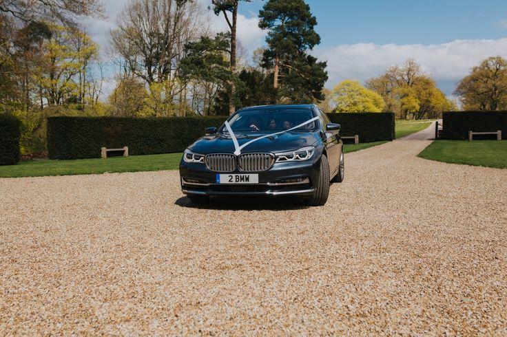2 BMW - too cool! Photo by Benjamin Stuart Photography #weddingphotography #weddingcar #bmw