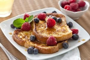 French Toast with fruit - Geri Lavrov/Getty Images