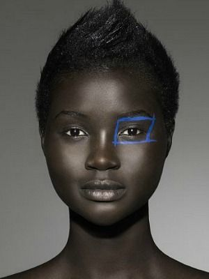 Ataui Deng is a S. Sudanese model.  i like to set, watch and learn
