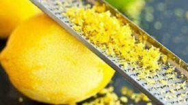 Guérir les douleurs articulaires en utilisant le zeste de citron … C'est un jeu d'enfants avec cette Astuce !