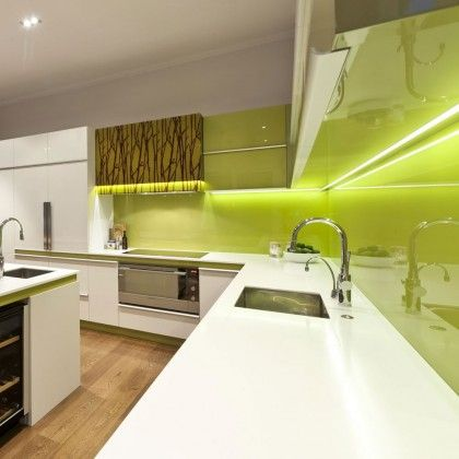 How good to these colour changing LED strip lights for the kitchen look?