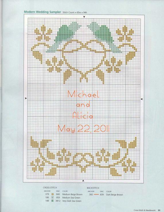 Gallery.ru / Фото #1 - Cross-Stitch and Needlework 2011-05 - tymannost
