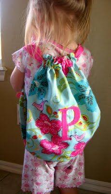 3 Little Chicks: DIY Preschool Backpack - My Favorite Project Yet