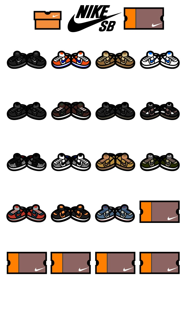 2002 Nike SB Dunks iPhone 4 Wallpaper. Available for download at dvdcartoonz.com. Also available in iPhone 5