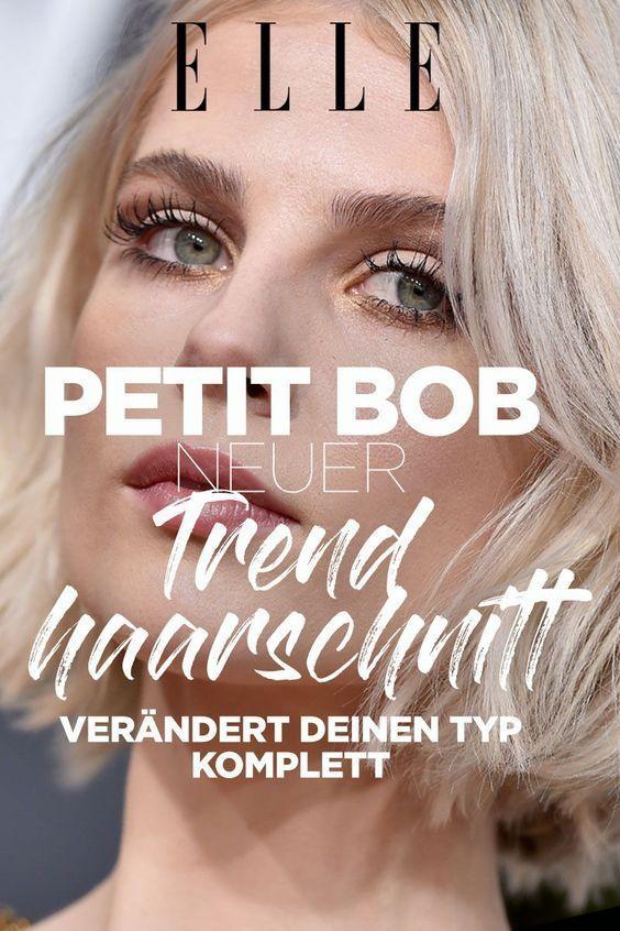 Trendfrisur Alle Tragen Jetzt Den Petit Bob Bob Frisuren
