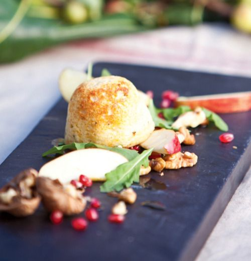 Shaun Rankin's Cheese Souffle - Great British Chefs