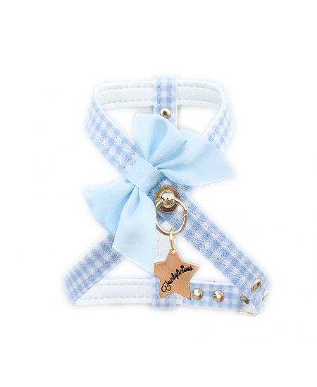 Arnés Funkylicious Vichy Bow azul