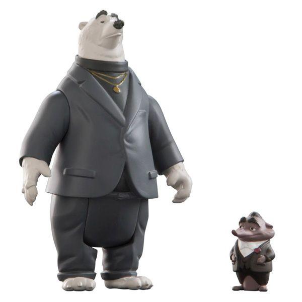 Zootropolis L70003 Зверополис Мистер Биг и медведь-телохранитель