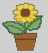 free counted cross stitch patterns easy