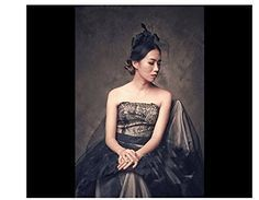 Leiothrix Black Elegant Veil Hair Accesories with Bowknot for Women and Girls Ap