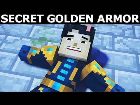 http://minecraftstream.com/minecraft-gameplay/how-to-find-secret-golden-armor-minecraft-story-mode-season-2-episode-4-below-the-bedrock/ - How To Find Secret Golden Armor - Minecraft: Story Mode Season 2 Episode 4: Below The Bedrock How To Find Secret Golden Armor – Minecraft: Story Mode Season Two Episode 4 Walkthrough Gameplay (No Commentary Playthrough Let's Play) Episode 4: Below The Bedrock My full game walkthrough part 1 and until the ending will include