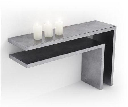 Concrete table | béton ciré | Concrete product design | Concrete | Interior | Inspiration | design | Beton design | Betonlook | www.eurocol.com