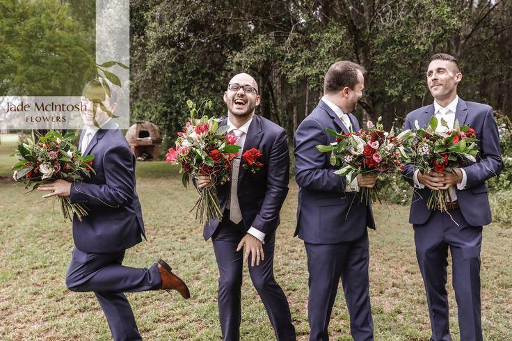 Hot tip: boys also wanna have fun. And they love flowers! www.jademcintoshflowers.com.au www.photographyonhermitage.com.au