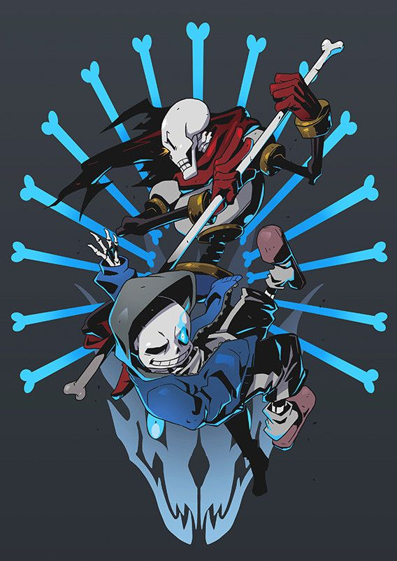 sans and papyrus boss