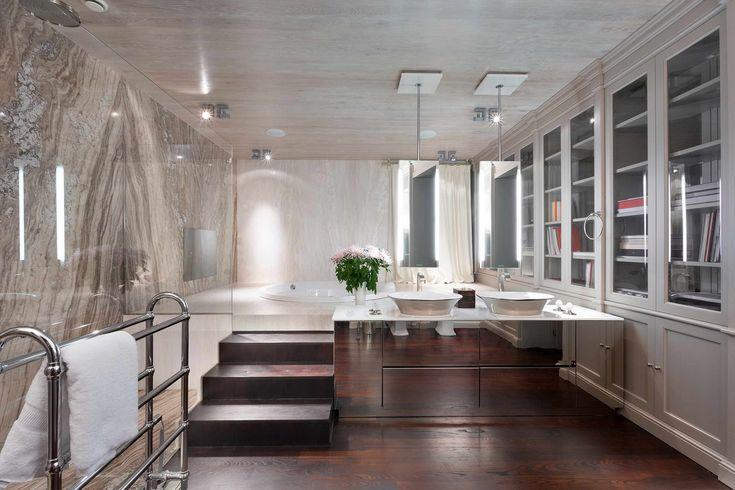 2 Modern Art Deco (Art Déco) lakás álomszerű eleganciával,  #artdeco #bársony #design #dizájn #elegáns #előszoba #enetrior #enteriőr #étkéző #geometria #hálószoba #ház #inspiráció #konyha #lakás #lakberendezés #luxus #márvány #modern #nappali #pompa, https://www.otthon24.hu/2-modern-art-deco-lakas/