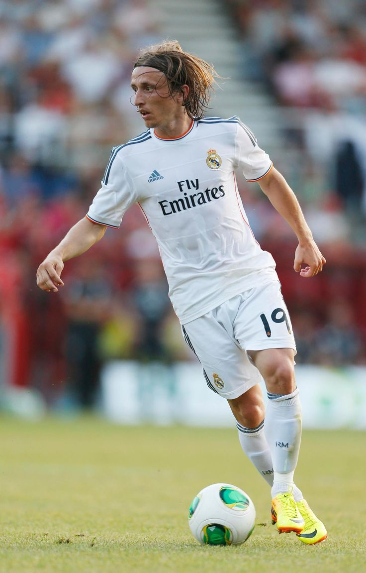 Luka Modric @ Real Madrid He's developed into one of the best midfielders in World Football ~ Nice One Luka