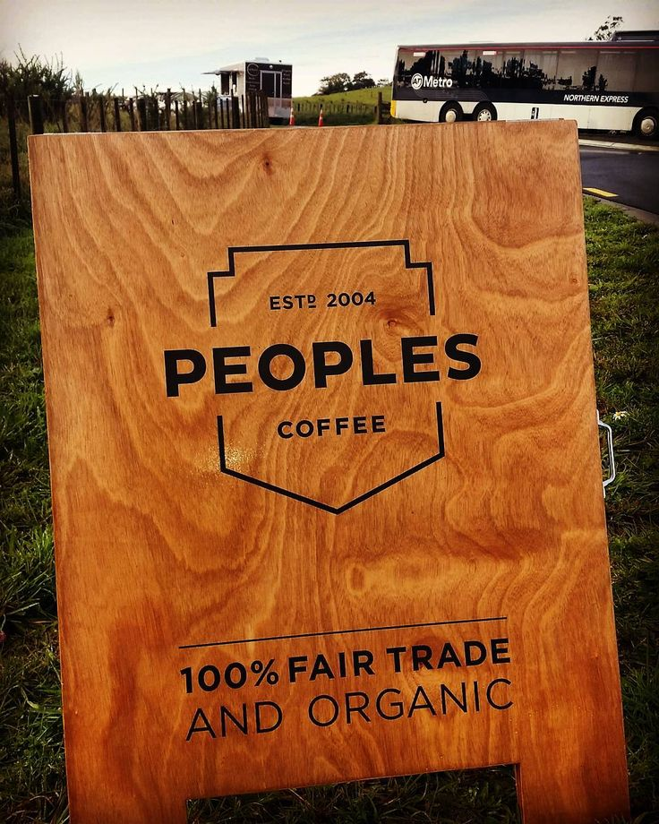 Check out our flash new sign from @peoplescoffeenz You won't miss us now! See you at the park n ride or Metro Milwater for a cuppa breaky or lunch this week  #newsign #organic #foodtrailer #coffee #fairtrade #busstop #lunchsorted #nourishyourself @earthspotnz by earthspotnz