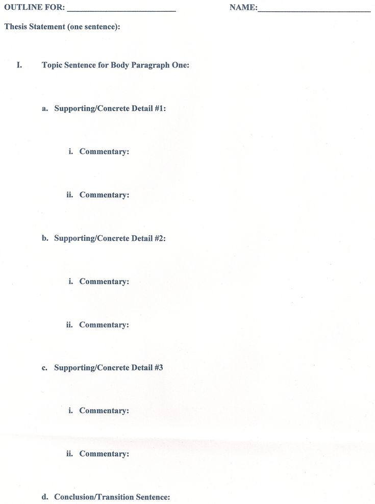 Teki Den Fazla En Iyi Research Paper Outline Fikri