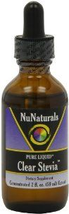 NuNaturals Nustevia Clear Stevia Glass Bottle Liquid, 2-Ounce by Nunaturals. $9.77. Easy to use liquid that allows the most accurate measurement of stevia extract.. It contains 200 mg per ml and is in a base of vegetable glycerine and 20% pure grain alcohol.. Great for teas and other beverages.. NuNaturals has developed this easy to use liquid that allows the most accurate measurement of Stevia Extract. This liquid is so concentrated, that only 5-10 drops are needed.Our Pu...