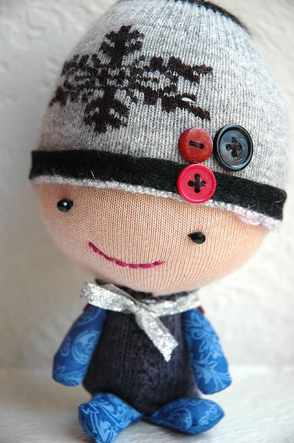 sock doll by who is pisces, via Flickr