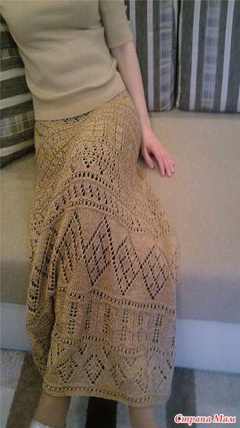 4 юбки в пол - Вязание - Страна Мам
