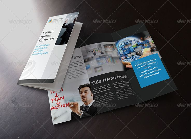 8 5x11 tri fold brochure template - 18 best awesome tri fold brochures images on