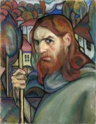 www.wikiart.org ION THEODORESCU-SION self Portrait