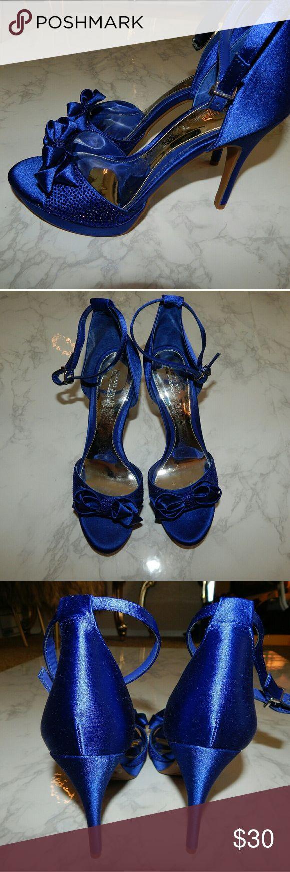 Brand  new Gianni Bini Blue Heels Brand new Gianni Bini Shoes