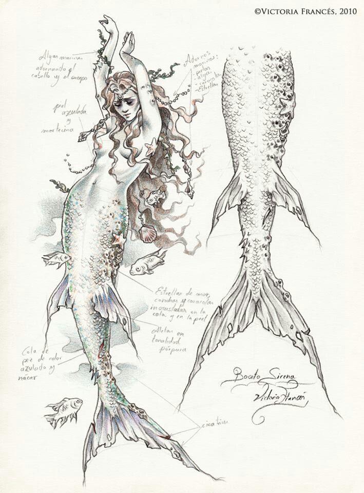 34 best Русалка images on Pinterest | Mermaids, Mermaid art and Drawings