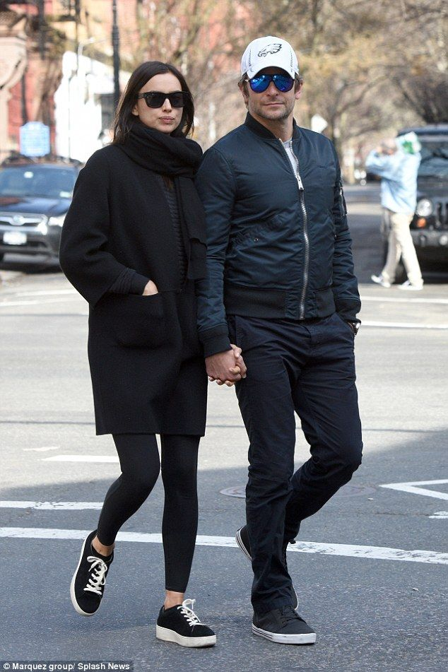 Romance in the air: Clearly still smitten with the Russian-born beauty, who he has been da...