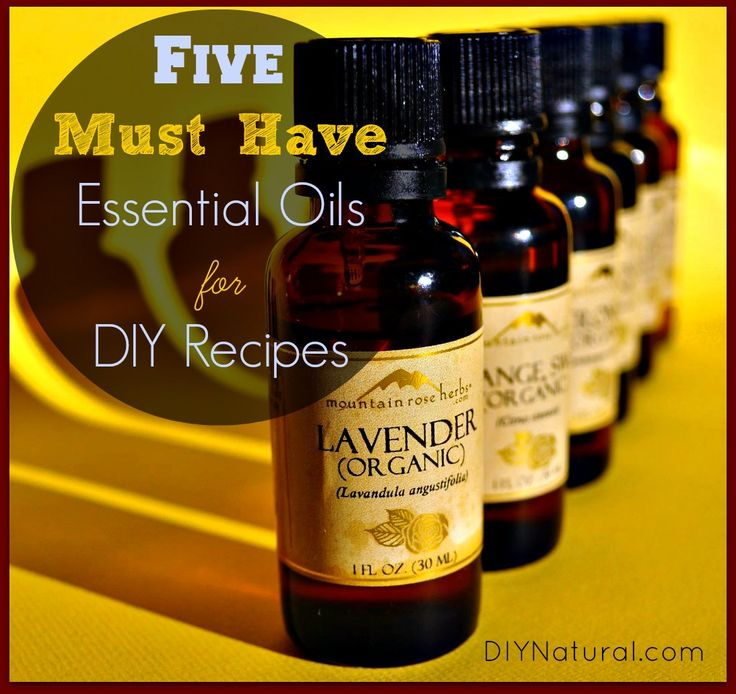 How To Use Essential Oils - The Top Oils You Need and Many Recipes