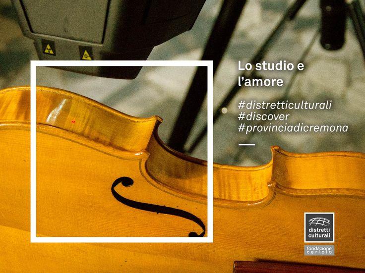 Quali misteriosi e minuti meccanismi rendono il suono di uno Stradivari, il suono di uno Stradivari?  L'amore e la conservazione degli strumenti sono l'unico modo per continuare a poter studiare quei meccanismi.  Scopri il lavoro straordinario che svolgono i laboratori scientifici della Fondazione Stradivari, nel Distretto culturale della provincia di Cremona.  #distretticulturali #discover #provinciadicremona  http://www.museodelviolino.org/laboratori-scientifici/