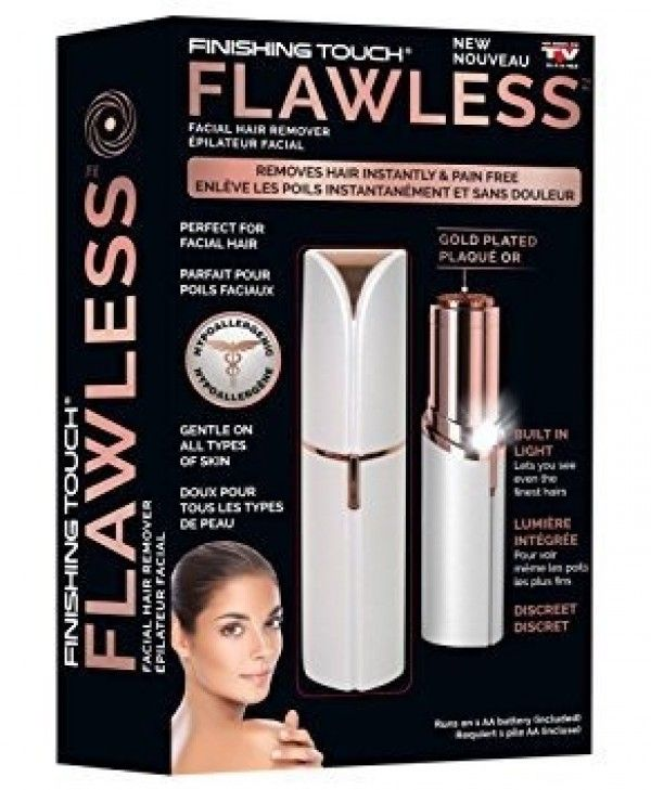 Finishing Touch Flawless Facial Hair Remover Review Facial Hair