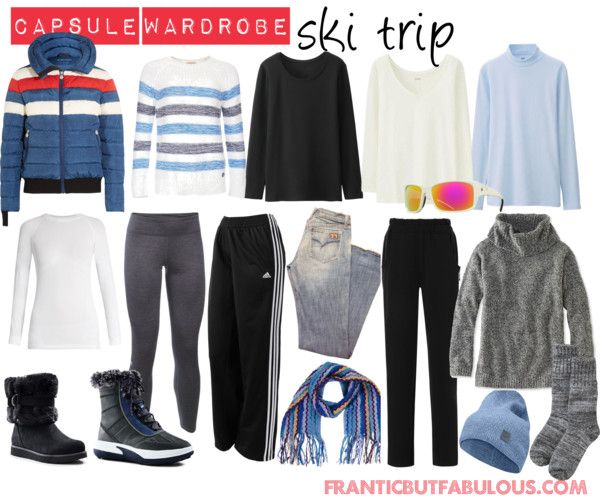 Planning a week-long ski trip this winter? Here's your capsule wardrobe packing list.