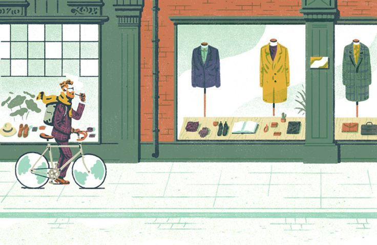 editorial Illustrations for Monocle Magazine.