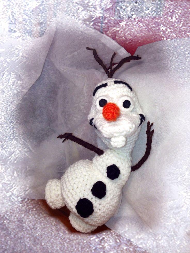 Amigurumi Crochet Frozen : Amigurumi Olaf Frozen crochet. Il mio simpatico amico all ...