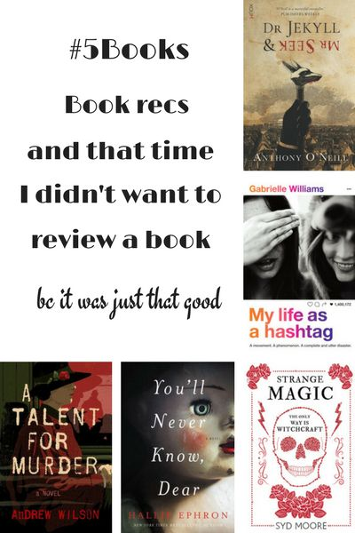 #5Books: My Life as a hashtag is a #LoveOzYA lesson in why not to rage tweet. Read about it and more here: #5Books: When do you not review a book? http://editingeverything.com/blog/2017/07/03/5books-not-review-book/
