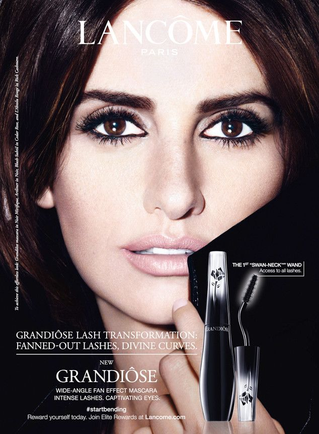 Get Up Close to Pen�lope Cruz in Her New Lanc�me Ads