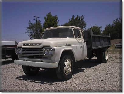 1959 Ford Dump Truck - LITTLEROCK CA