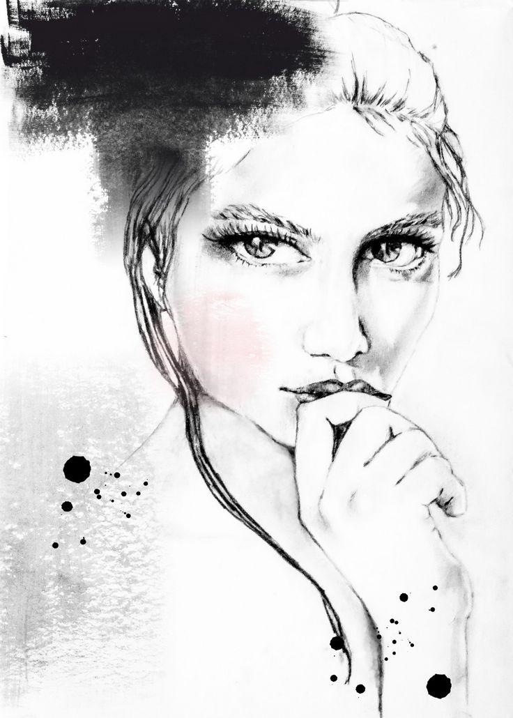 Facebook Twitter Google+ Pinterest Autorska ilustracja , technika mieszana : ołówek i akwarela przeniesiona na druk cyfrowy . Sygnowana podpisem autora format 50×70 papier 220g Artysta: Magdalena Głodek
