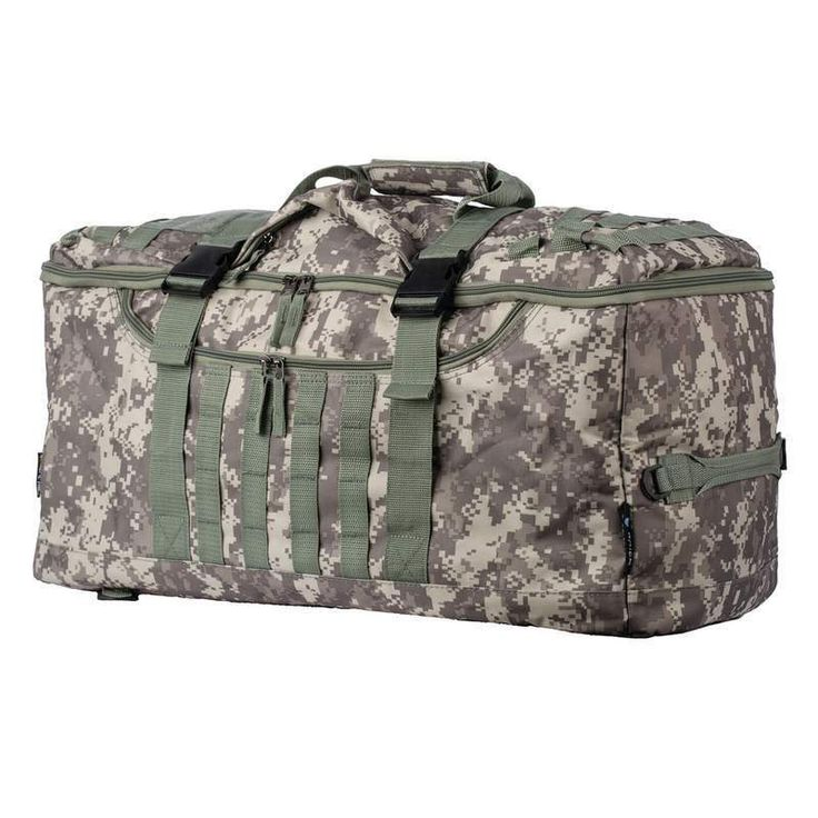 24 Inch Carry On Tote Bag Backpack Camo Design Hiking Camping Outdoors #ExtremePak