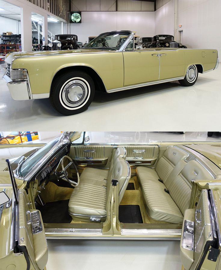1965 Lincoln Continental Convertible – Alt – Eisen