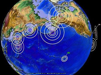 #Dutchsinse - 5/15/2016 This graphic shows the past 24 hours of M4.5+ earthquakes in the North Pacific - u… (With images)   Aleutian islands ...
