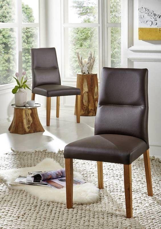 Die besten 25+ Leder Esszimmer Stühle Ideen auf Pinterest - designer stuhl esszimmer