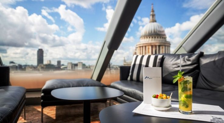 Cocktails on the Roof, Madison, London