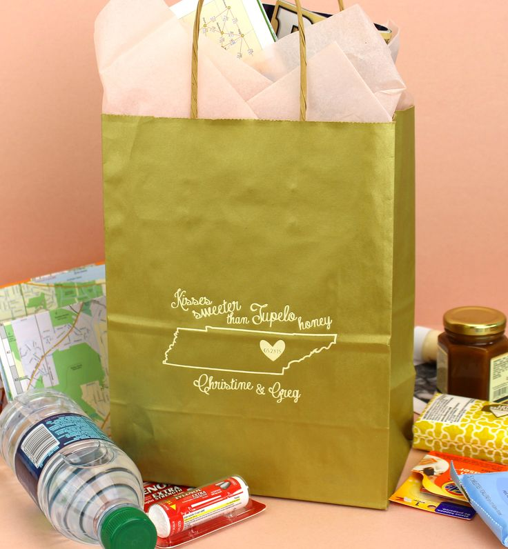 Gift Ideas For Wedding Helpers: 17 Best Images About Wedding Gift Bags On Pinterest