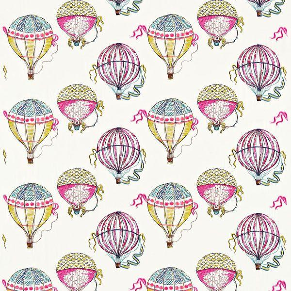 Beautiful Balloons Fabric Multi 232298, £83.00 (http://www.britishwallpapers.co.uk/beautiful-balloons-fabric-multi-232298/)