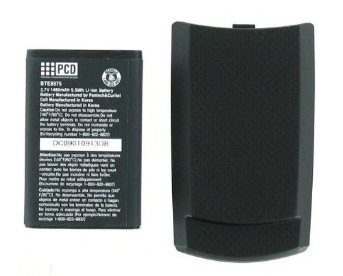 Verizon OEM PCD CDM-8975 Extended Battery and Door - Black  #Verizon #Wireless