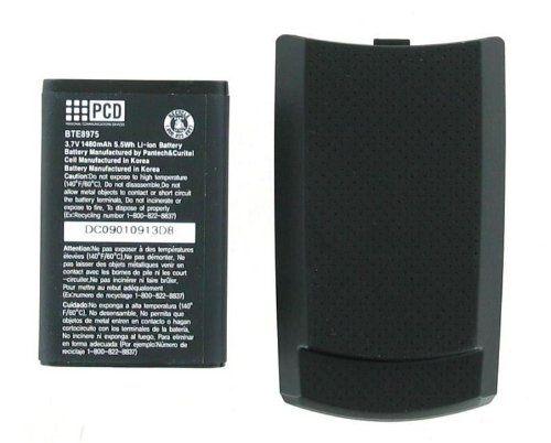 Verizon OEM PCD CDM-8975 Extended Battery and Door - Black  #Verizon #Wireless